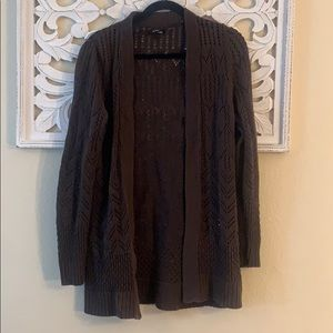 3/$20 Apt 9 Brown Oversized Open Front Cardigan